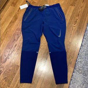Nike Blue Dri Fit Flex Running Pants NWT